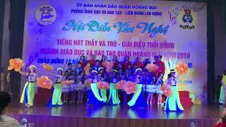 Việt Nam Gấm Hoa - Tốp Ca GV và HS THCS Mai Động