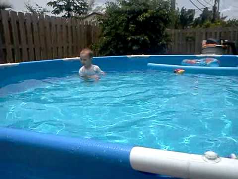 Intex Summer Creations 10x30 Above Ground Pool Youtube
