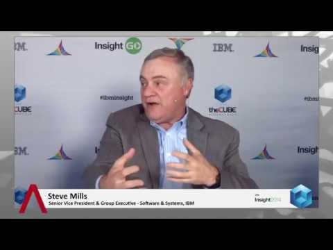 Steve Mills - IBM Insight 2014 - theCUBE