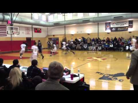Worcester Academy Varsity Basketball 2013/2014 Highlights (short version) - 02/03/2014