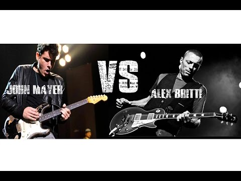 Alex Britti VS John Mayer