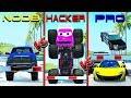 NOOB vs PRO vs HACKER crashes #11 - Beamng drive (cars crashes)