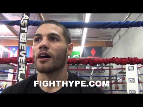 MICHAEL PEREZ TALKS SEPTEMBER 6 CLASH WITH JARED ROBINSON ITS GOING TO BE AN EXPLOSIVE 10 ROUNDS
