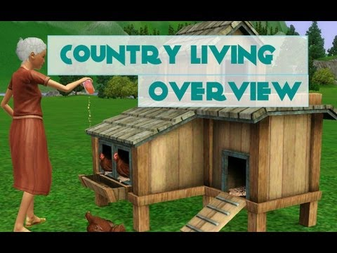 The Sims 3 Store: Country Livin' Review/Overview