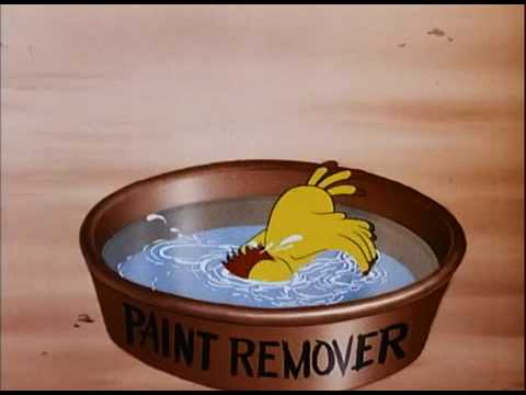 Donald Duck: Wet Paint 1946
