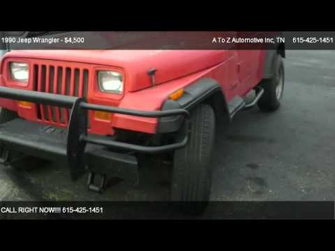1990 Jeep Wrangler S - for sale in Smyrna, TN 37167