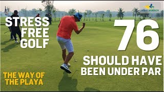 How to lower Golf Scores Immediately: STRESS FREE GOLF 101