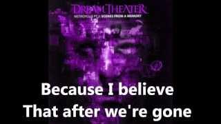 "Dream Theater - ""The Spirit Carries On"" Lyrics In Video (HD)"