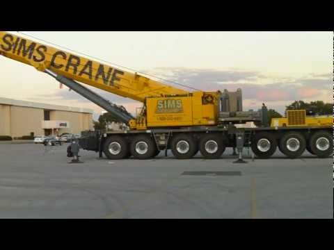 Huge Crane Grove OMK7550 GMK7450 mobile crane