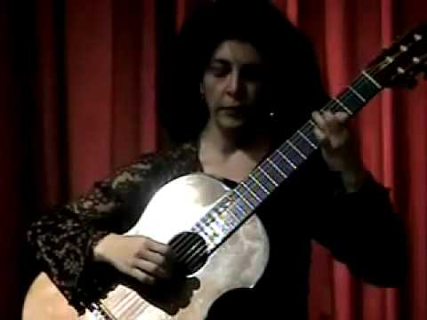 Laura Young, classical guitarist