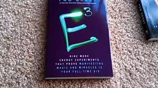 E Squared and E Cubed by Pam Grout helps believe in your thoughts create your reality