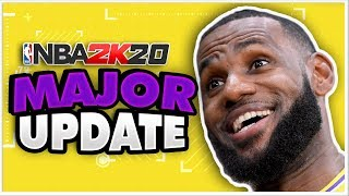 NBA 2K20 Patch 1.03 Details -Missing Names Fixed?!?