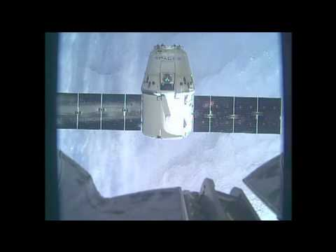 U.S. Commercial Cargo Ship Departs International Space Station