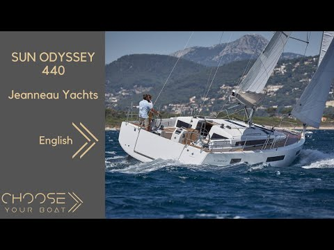 SUN ODYSSEY 440 by Jeanneau: Guided Tour Video (in English)