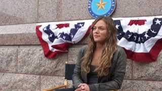 Revolution Interview with Tracy Spiridakos