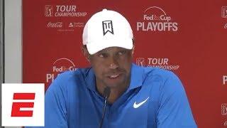 Tiger Woods focusing on winning Tour Championship [Presser] | ESPN