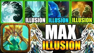 FULL ILLUSION SKILL AUTO WIN ! Ability Draft Dota 2