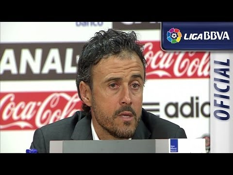 Press Conference Luis Enrique after Celta de Vigo (4-1) Real Valladolid - HD