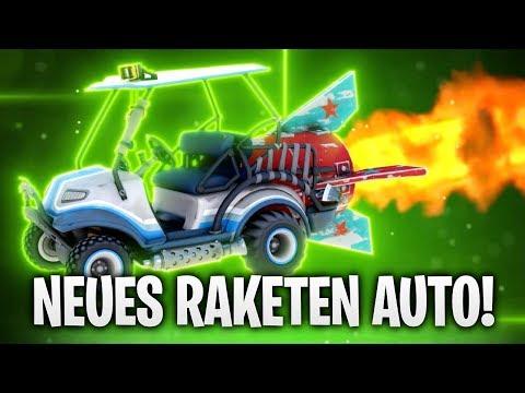 NEUES RAKETEN AUTO! 🚀🚗 | Fortnite: Battle Royale