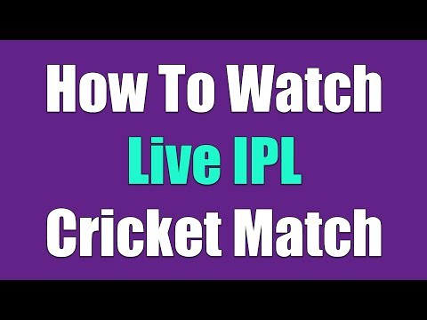 How to watch live IPL cricket - Indian premier league 2016 in mobile full HD