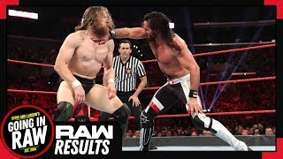 WWE Raw Review Full Resutls Strong Raw Before Stomping Grounds Going In Raw Podcast