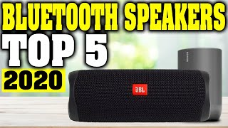 TOP 5: Best Bluetooth Speaker 2020