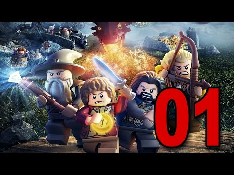 The LEGO Hobbit - Part 1 - Welcome! (Playstation 4 Let's Play / Walkthrough / Gameplay)