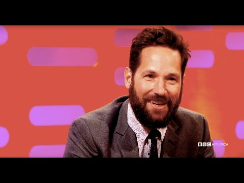 Paul Rudd Lived Every Marvel Fan's Dream - The Graham Norton Show