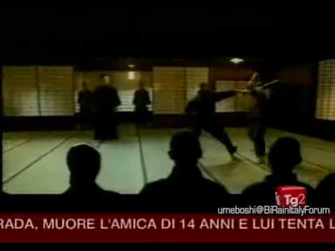 Ninja Assassin-Bi Rain @ Tg2[news]29/11/09 ( 50 sec.)