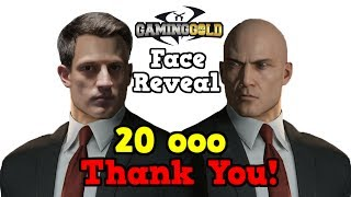 HITMAN Face Reveal 20K Subscriber Request - Thank You All of You