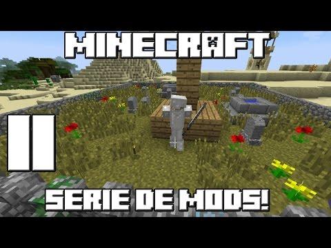 Minecraft SERIE DE MODS! El Aventurero Madafaka! Cap.11