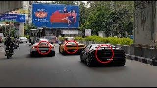 3 Lamborghini's Gone Crazy In Hyderabad| India