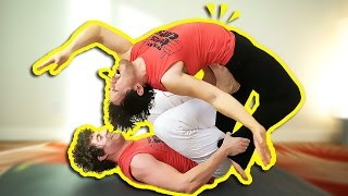 BREAKING MARKIPLIER'S BACK | Friend Yoga