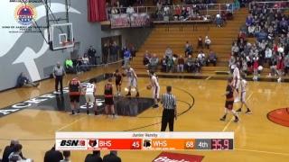 Boys Basketball Blackford vs. Wabash JV