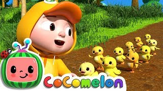 Ten Little Duckies (A Counting Song) | Cocomelon (ABCkidTV) Nursery Rhymes & Kids Songs