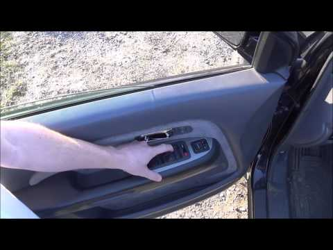 How To : Fix Your Honda Automatic Power Window Switch