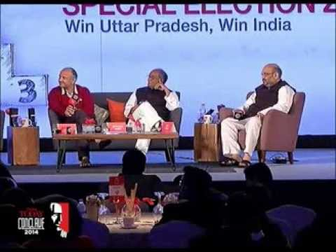 Amit Shah, Digvijaya Singh and Manish Sisodia battle it out at India Today Conclave 2014