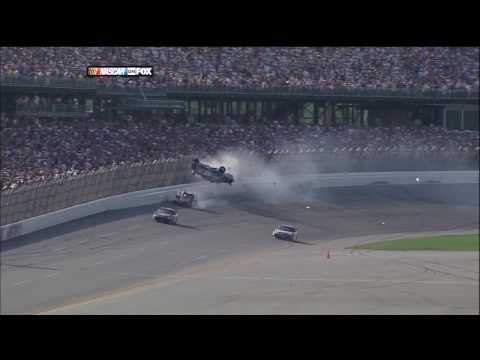 2009 NASCAR Talladega Finish aka Carl Edwards Wild Ride (Replays) HD