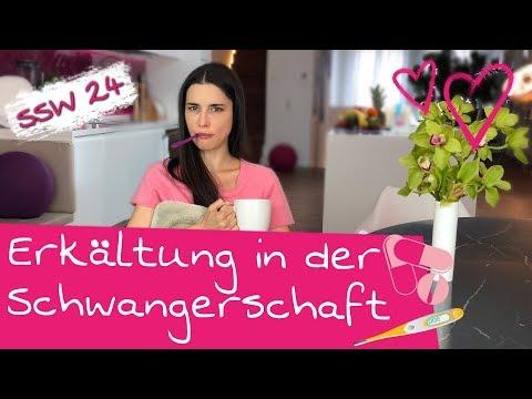 24. SSW | Erkältet in der Schwangerschaft | Was hilft am besten gegen eine Erkältung?