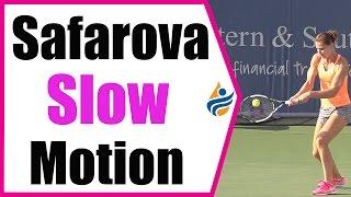 Lucie Safarova Slow Motion Forehand & Backhand 240FPS (Cincinnati 2014)