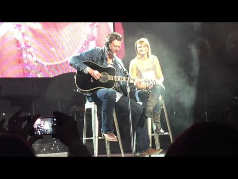 Blake Shelton joins Miranda Lambert in Dallas, Texas