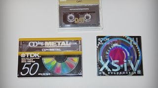 Digital & analog audio: MP3 - tape - DAT - minidisc