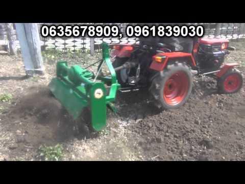 Фреза до трактора видео