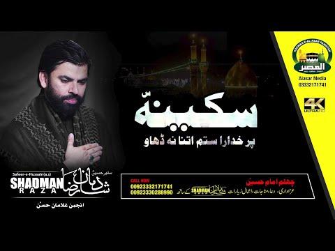 Shadman Raza Naqvi | Sakina (sa) Per Khudara | 1441/ 2019 Album