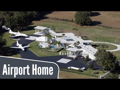 john travolta's house is a functional airport with 2