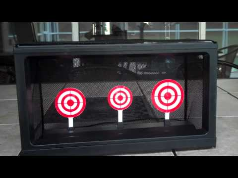 Nano Airsoft: EP:1 S:1 Crosman Auto-reset Target Review