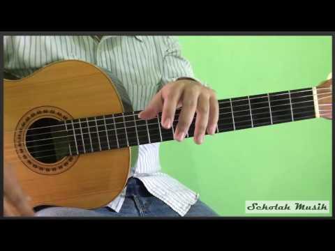 Belajar Petikan Gitar Lagu Hanya Ingin Kau Tahu - Republik