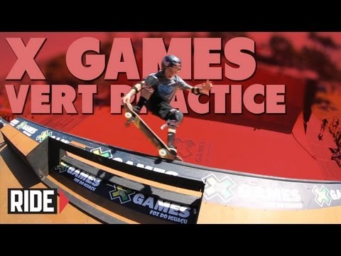 X Games Brazil 2013 Vert - Bucky Lasek, PLG and More!