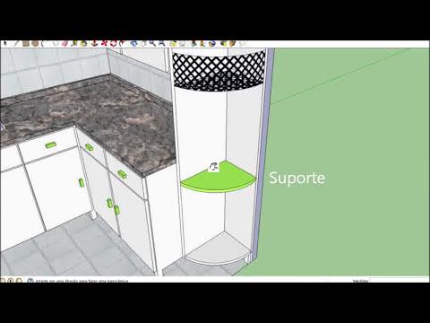Cozinha Planejada (Feita em Google SketchUp 8)