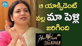 We Got Married Beacuse Of That Accident - Jeevitha || Heart To Heart With Swapna